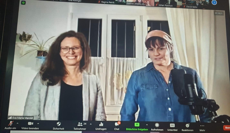 Mini Kabarett mit Eva Maria Marold
